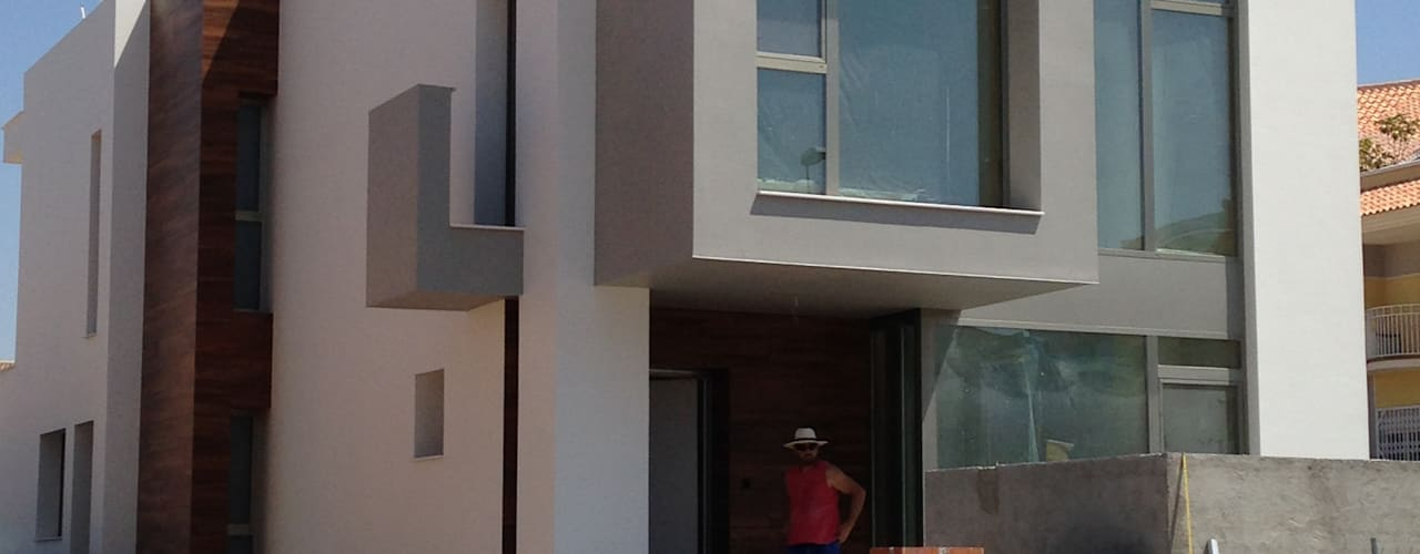 Houses by FRAMASA CONSTRUCTORA DEL NOROESTE SLU, Modern