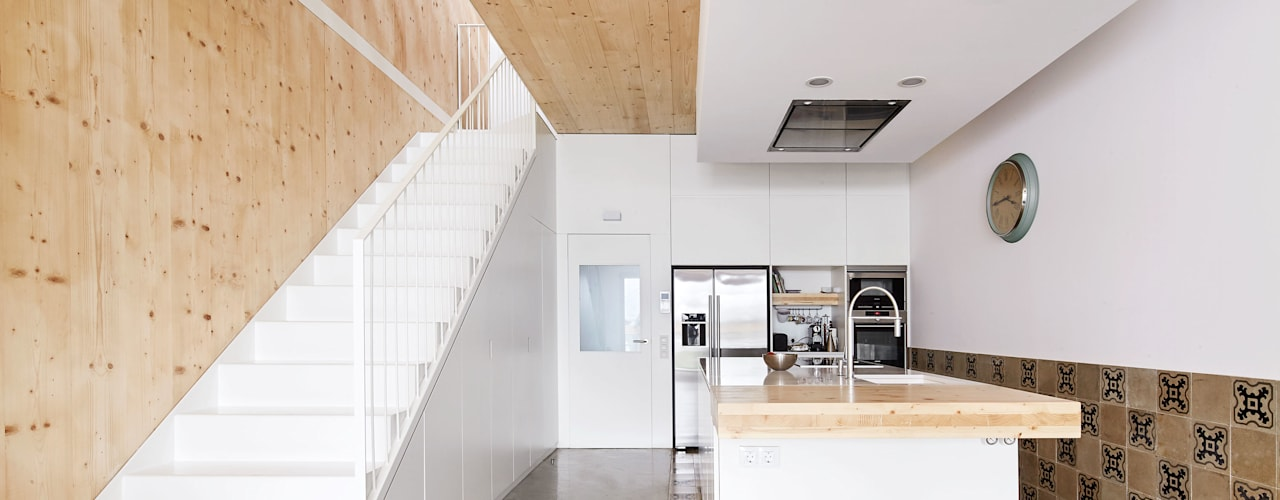 Cocinas de estilo minimalista por Vallribera Arquitectes