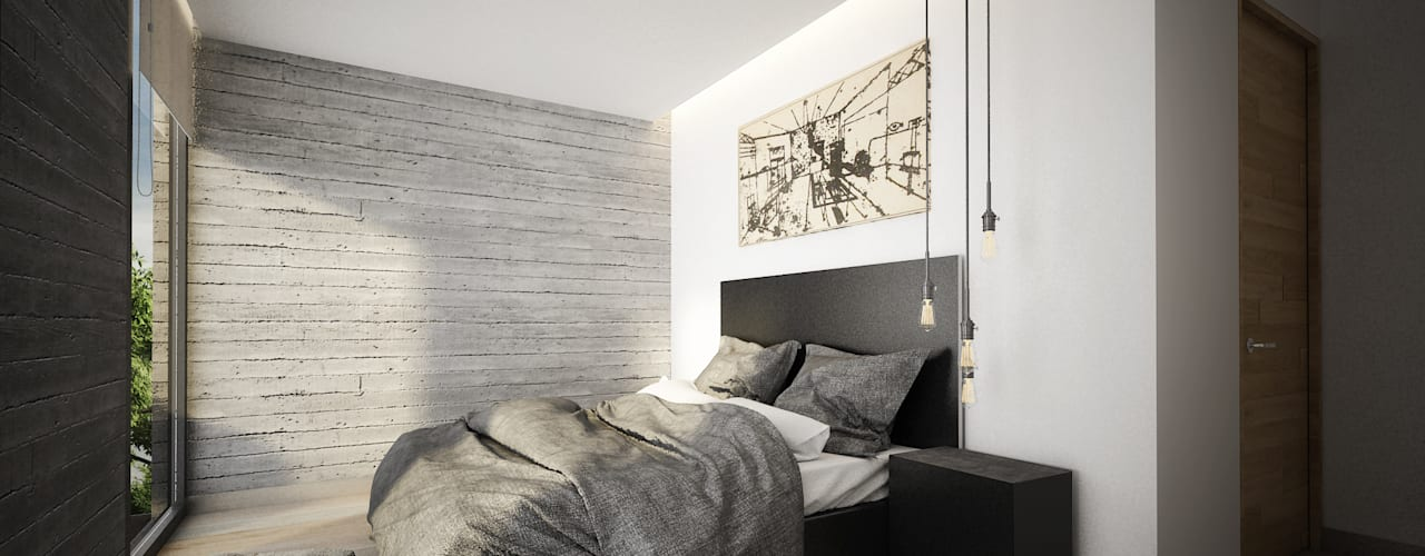 Modern style bedroom by Sulkin Askenazi Modern
