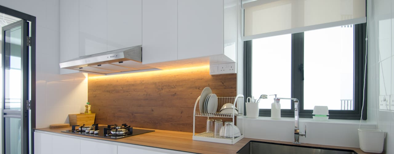 BTO Dawson Modern kitchen by Designer House Modern