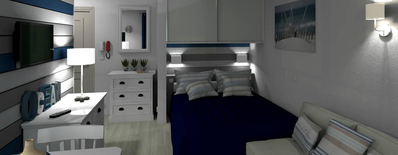 MJ Intérieurs: modern tarz Yatak Odası