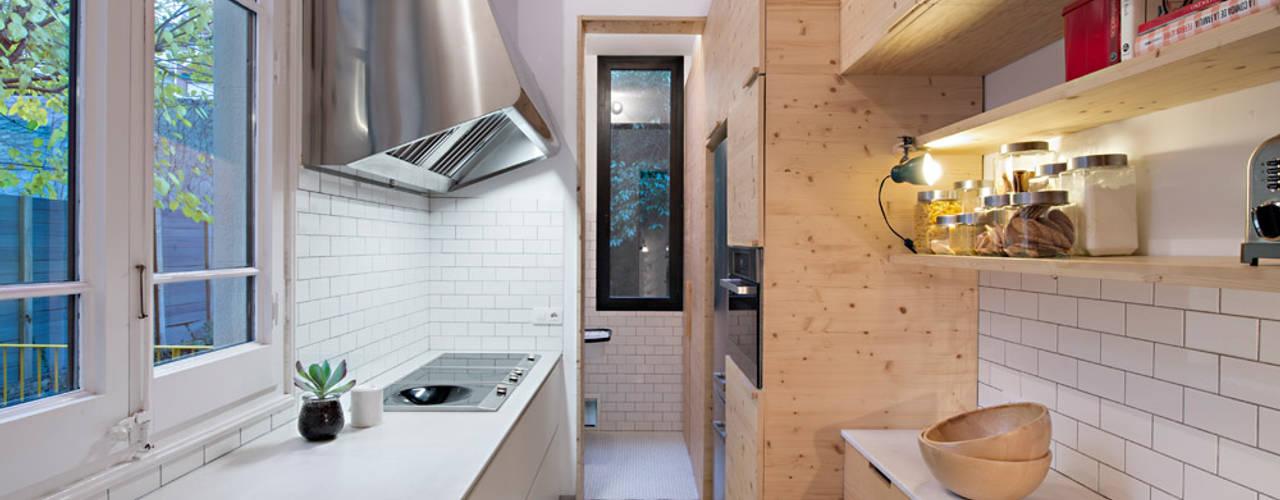 Projekty,  Kuchnia zaprojektowane przez MIRIAM CASTELLS STUDIO