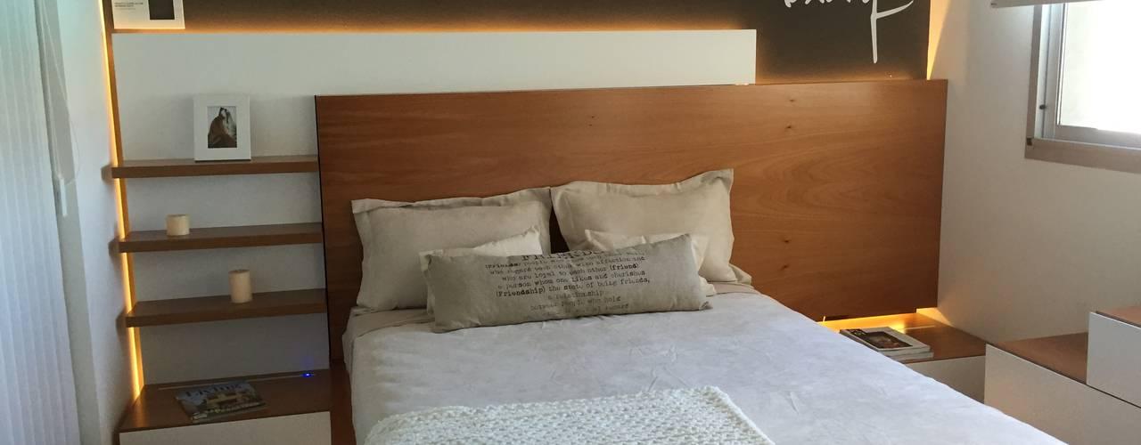 Dormitorios de estilo  por MODULUS