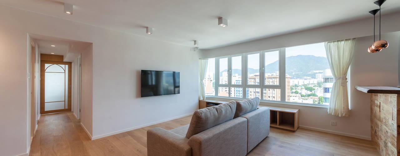 Livings de estilo minimalista por arctitudesign