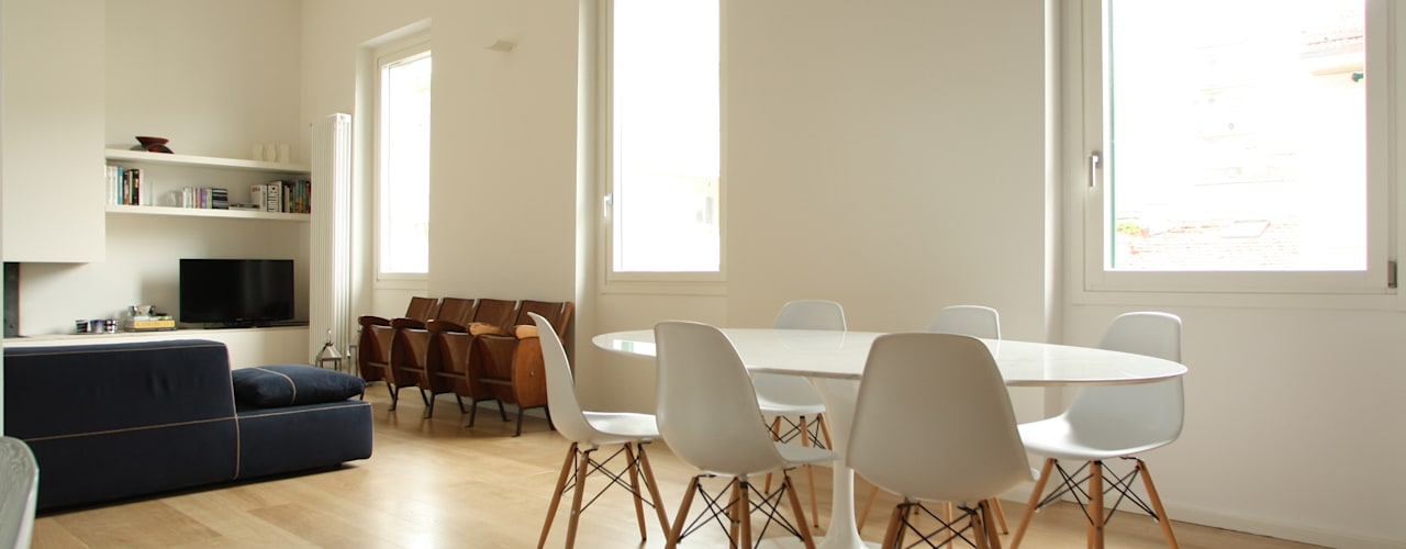 Salon minimaliste par Filippo Rak Architetto Minimaliste