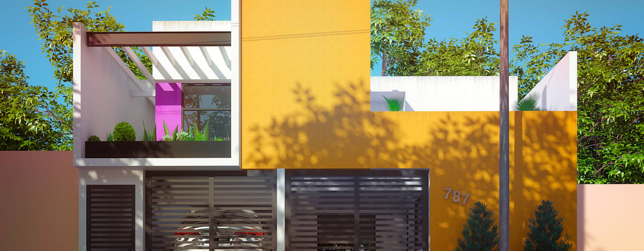 Houses by Laboratorio Mexicano de Arquitectura,