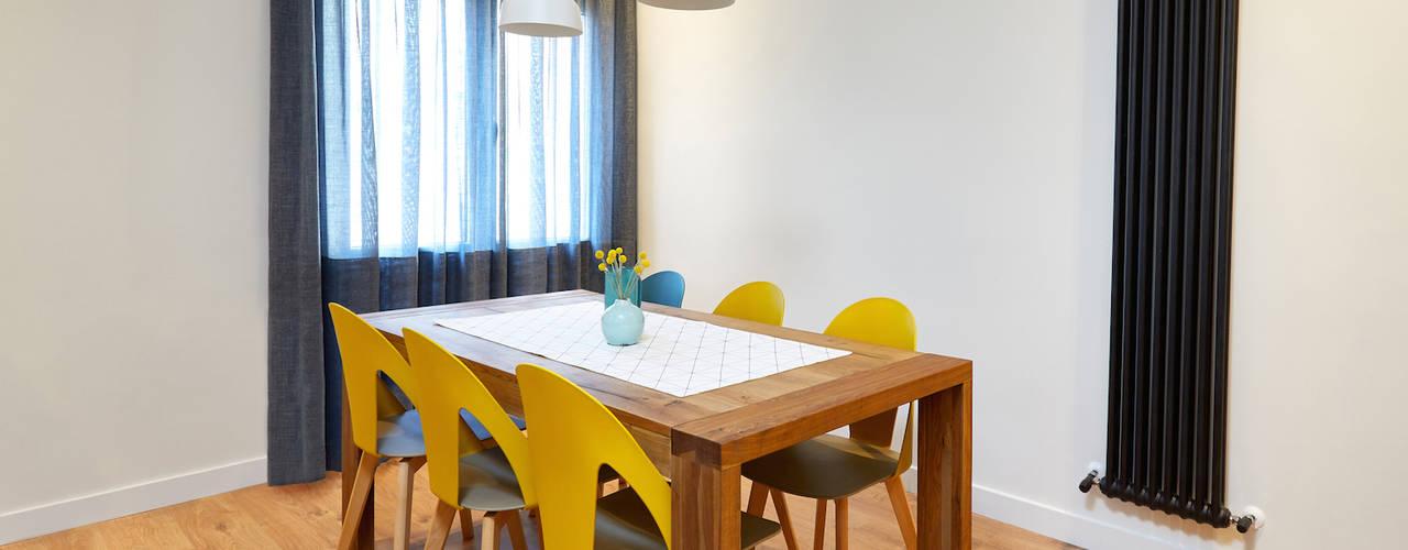 Salas de estar escandinavas por Dimensi-on