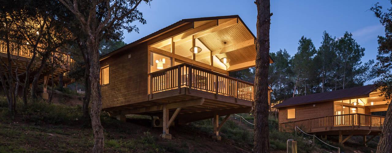 Bungalows | DOS arquitectes Casas estilo moderno: ideas, arquitectura e imágenes de Simon Garcia | arqfoto Moderno