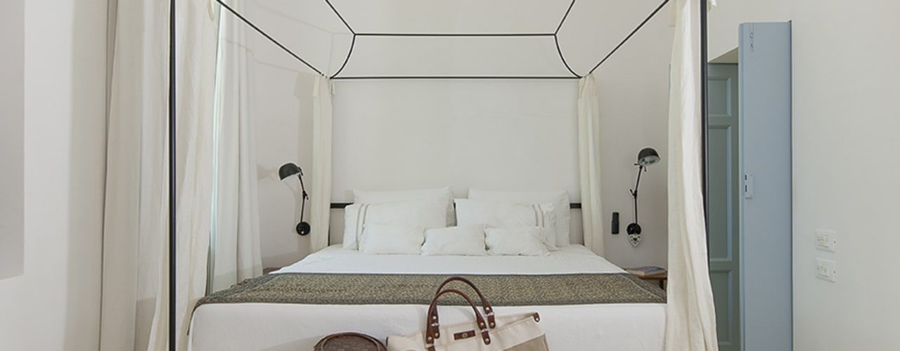mediterranean Bedroom by STUDIOTALENT srl