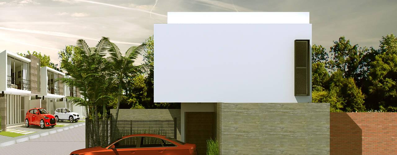 CASA CENTENO: Casas de estilo  por CCA|arquitectos
