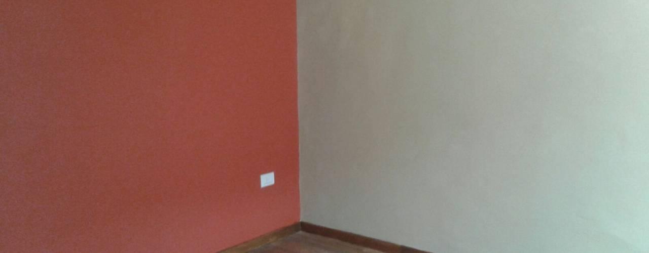 Reforma Integral PH Paredes y pisos modernos de Grupo PZ Moderno