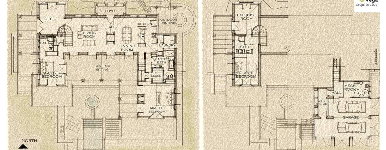 de estilo  de Azcona Vega Arquitectos