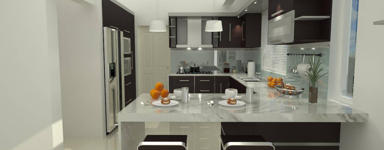 7 tipos de materiales para mesones de cocina for Modelos de mesones de cocina fotos