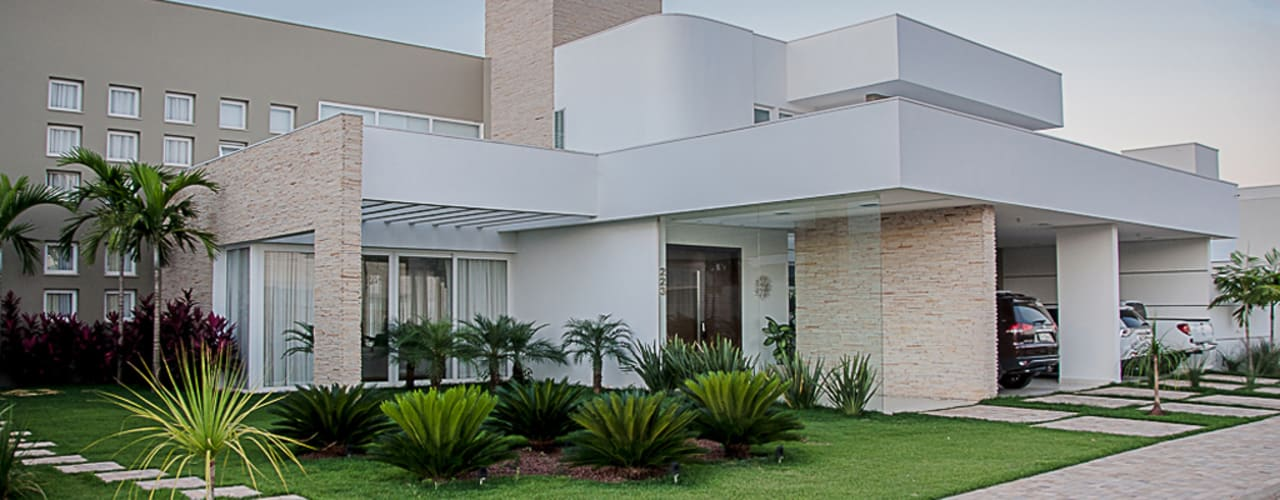 Casas de estilo moderno por A/ZERO Arquitetura
