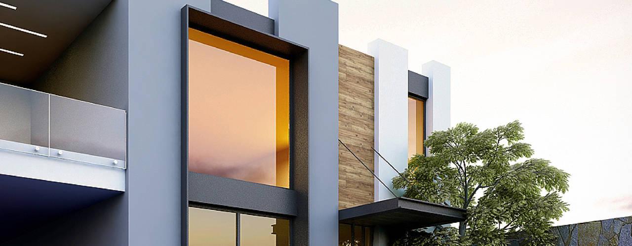 Projekty,  Domy zaprojektowane przez Besana Studio