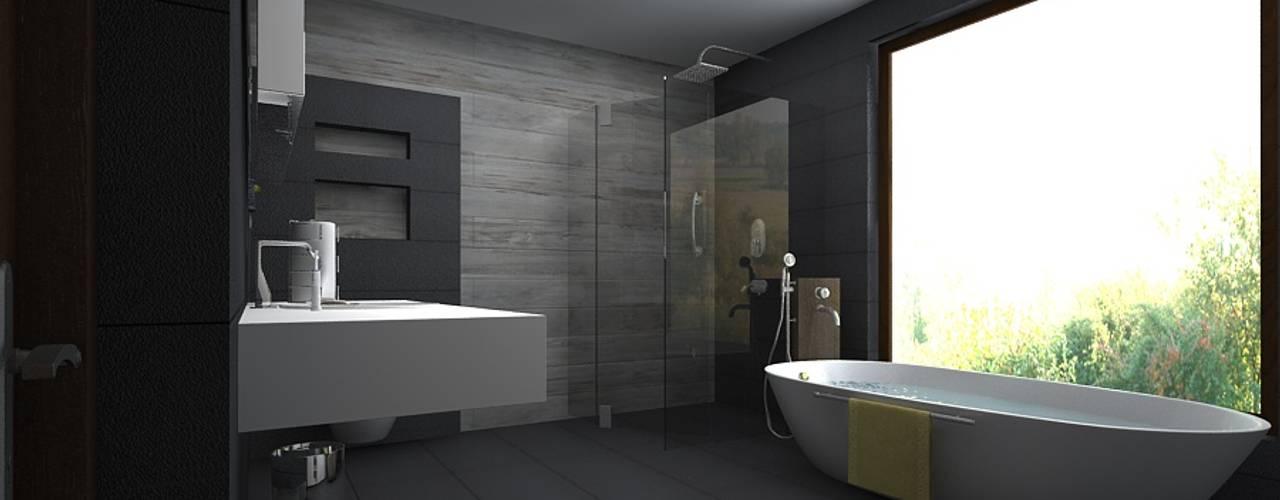 modern Bathroom by A Mans Creation