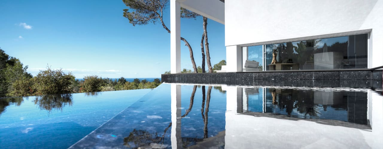 Projekty,  Domy zaprojektowane przez MG&AG.ARQUITECTOS