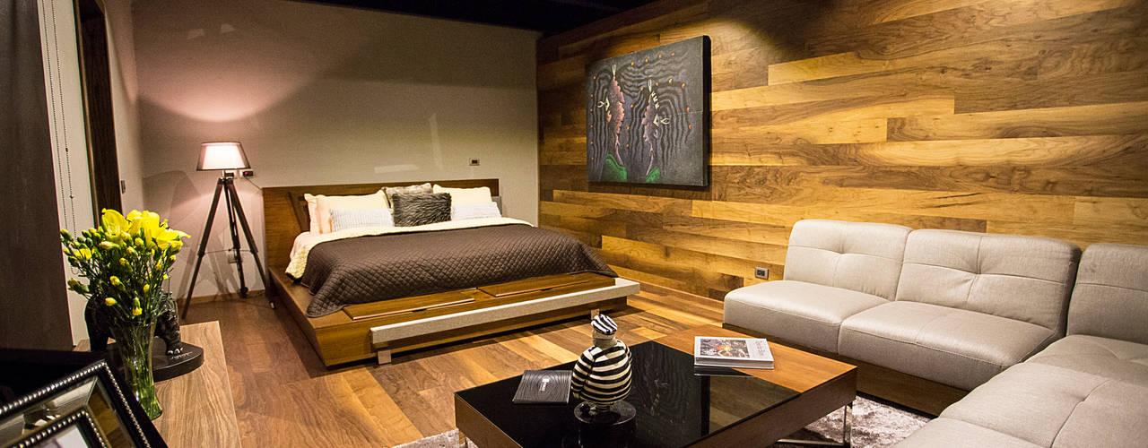 Dormitorios de estilo moderno de Con Contenedores S.A. de C.V. Moderno