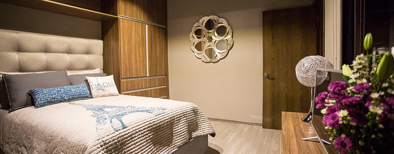 Modern Bedroom by Con Contenedores S.A. de C.V. Modern