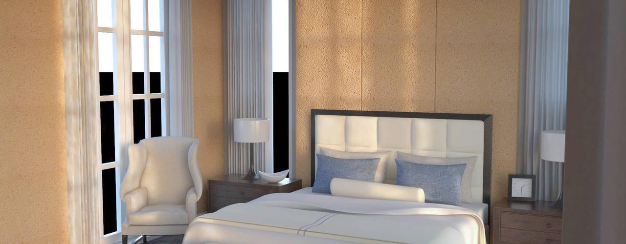 Habitaciones de estilo  por PROYECTARQ | ARQUITECTOS,