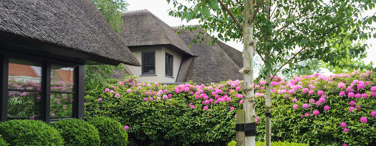 Jardines de estilo  por Vosselman Buiten, Moderno