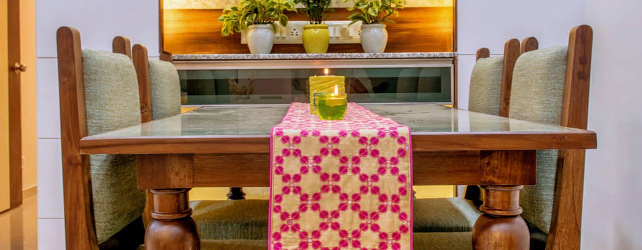 Salas de jantar ecléticas por Saar Interior Design