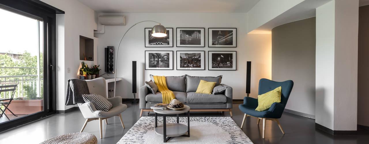 Salas de estilo  por Architrek,