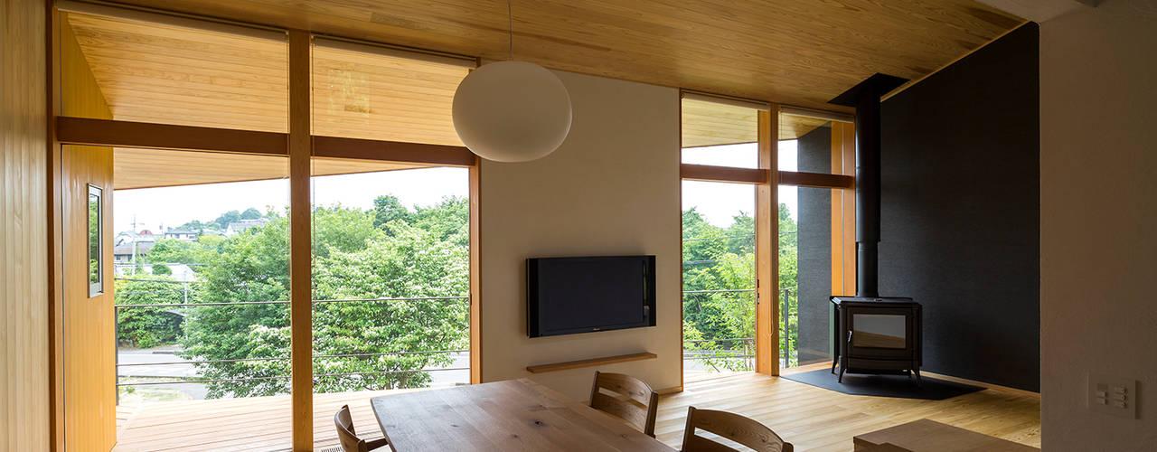 Столовые комнаты в . Автор – 中山大輔建築設計事務所/Nakayama Architects