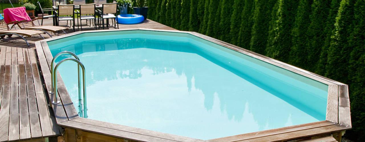 Moderne Holzpools für Ihren Garten OOGarden Pool Holz