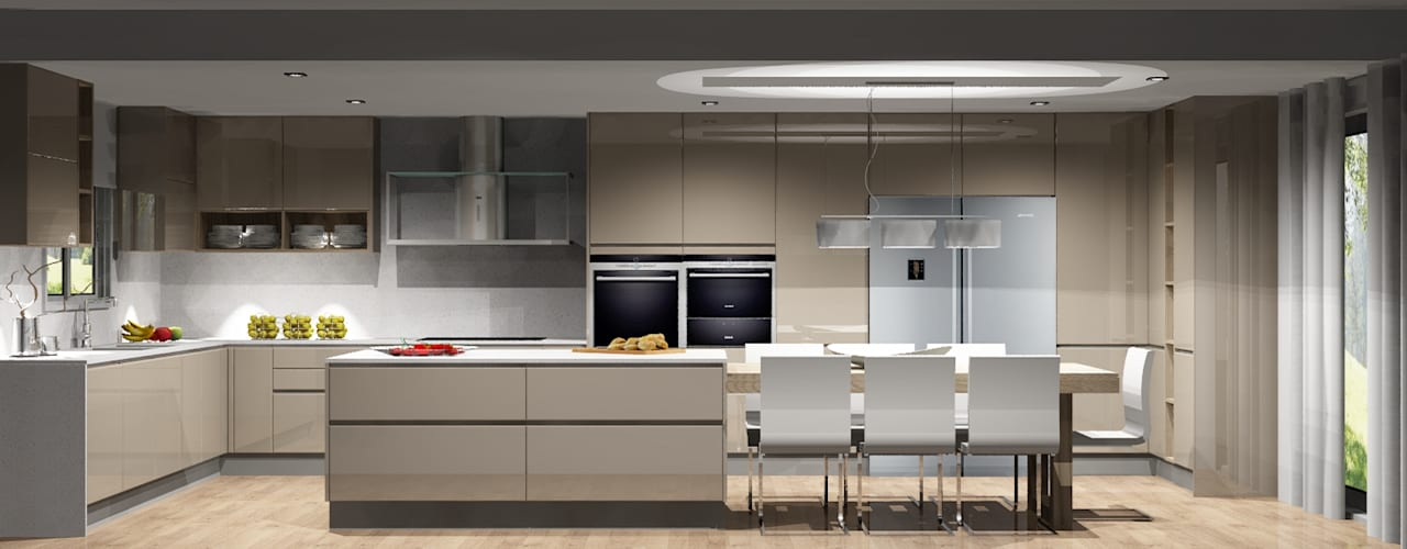 Cocinas de estilo  por Amplitude - Mobiliário lda, Moderno
