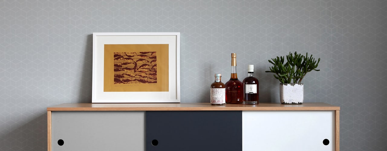 Baltic Design Shop Dining roomDressers & sideboards Wood Grey