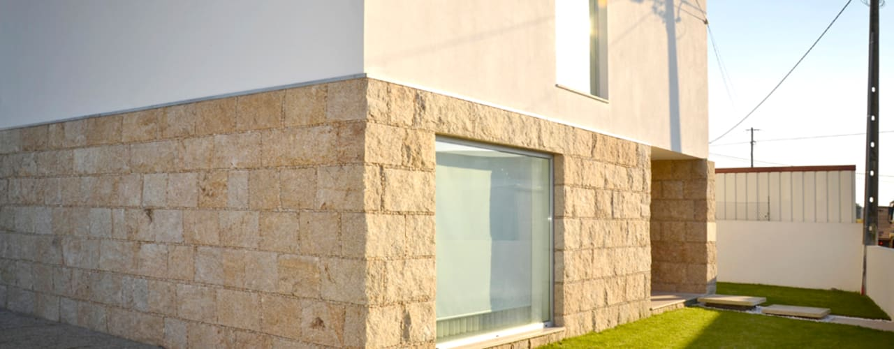 Дома в стиле минимализм от PFS-arquitectura Минимализм