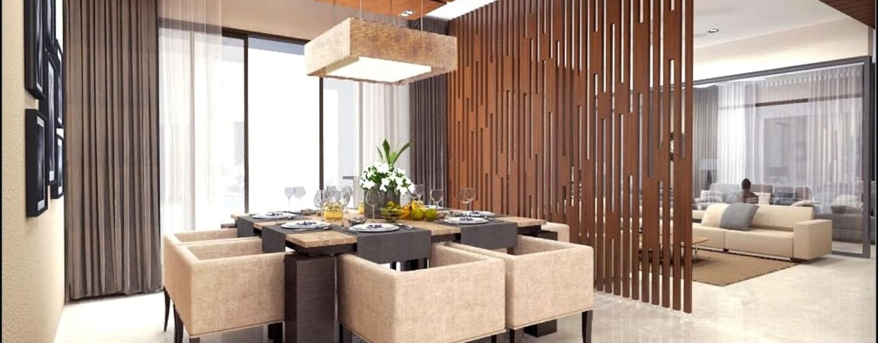 house interiors Modern dining room by Vinyaasa Architecture & Design Modern