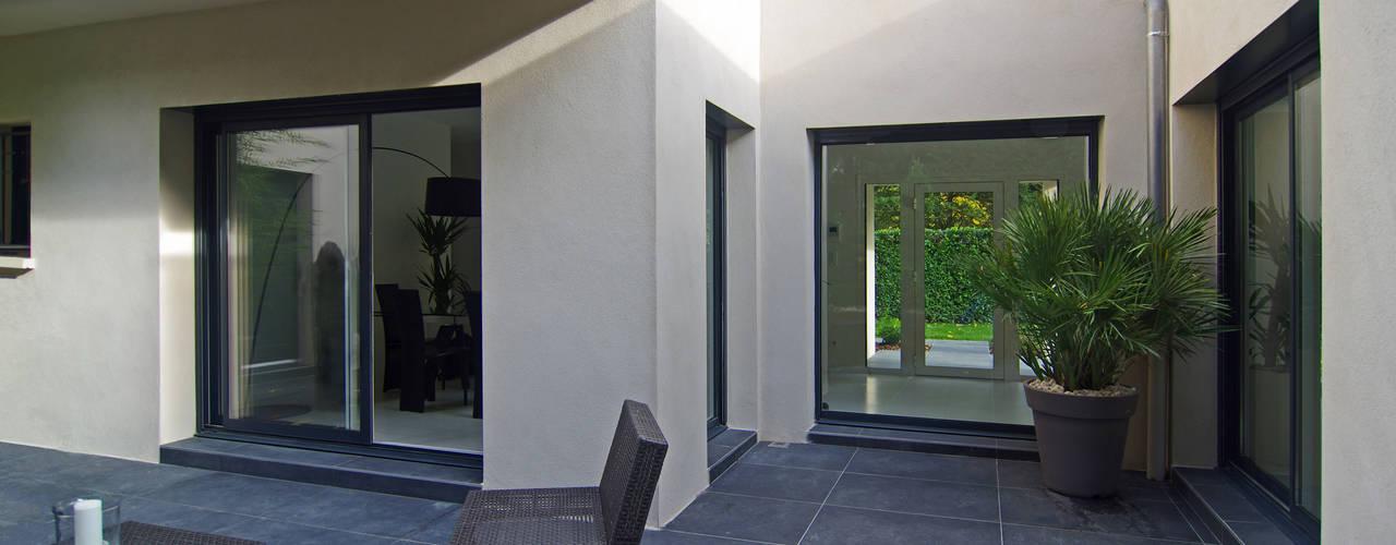 Maison contemporaine par Pierre Bernard Création Moderne