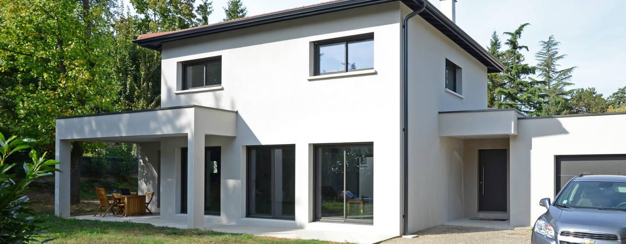 Moderne huizen van Pierre Bernard Création Modern