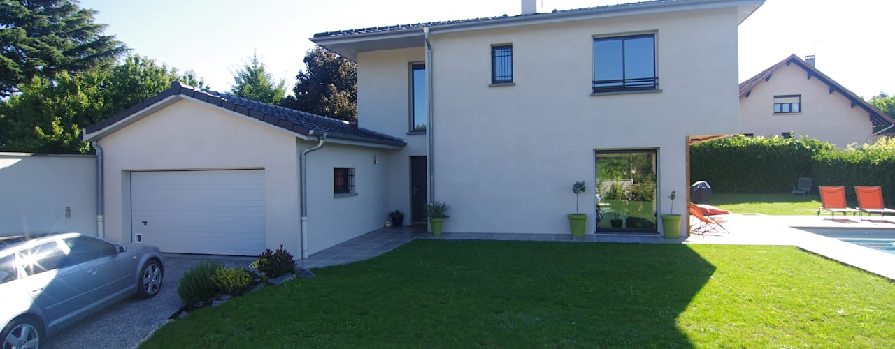 Projekty,  Domy zaprojektowane przez Pierre Bernard Création, Klasyczny