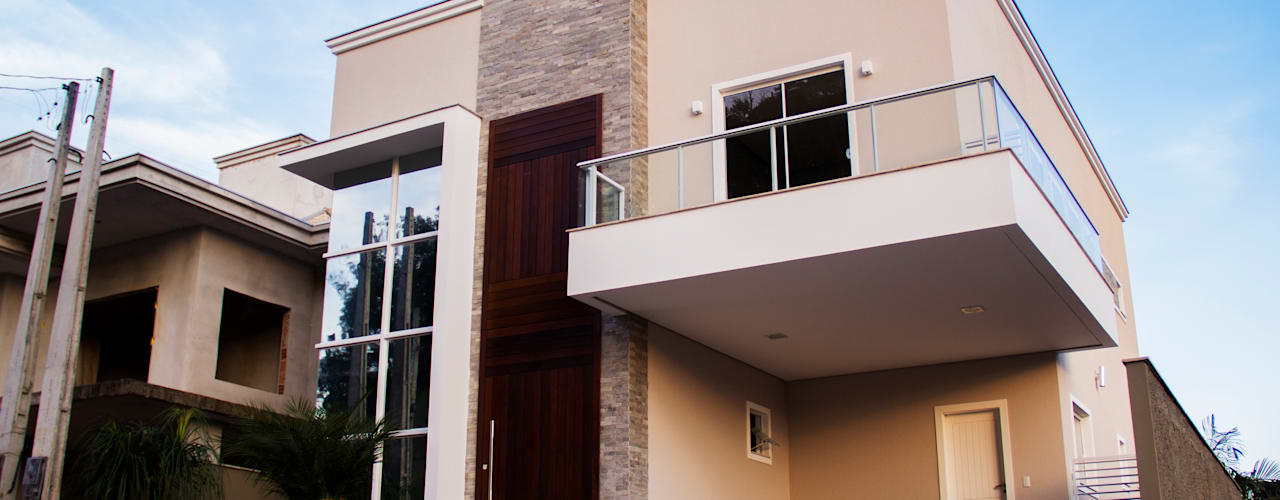 Casa QE148: Garagens e arrecadações  por Cecyn Arquitetura + Design