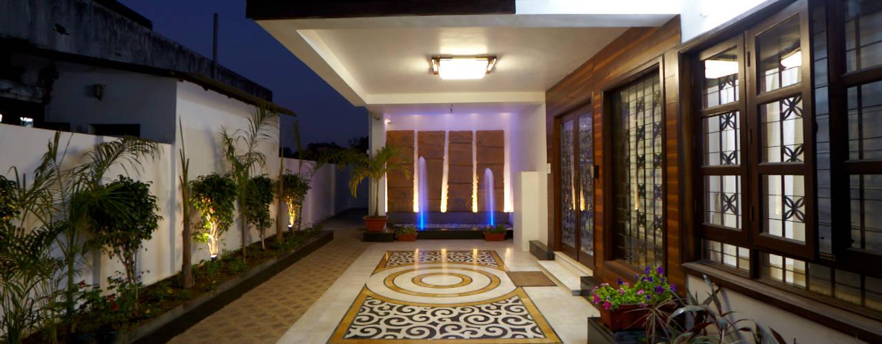 Casas de estilo  por M B M architects, Minimalista