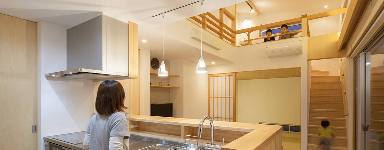 Kitchen by 田村の小さな設計事務所, Modern