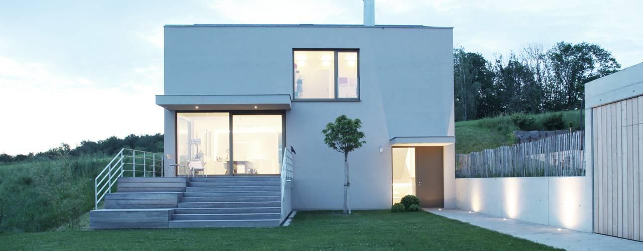 Moderne huizen van Schiller Architektur BDA Modern