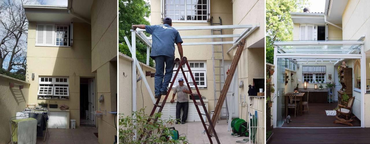 Balcones y terrazas rústicos de Expace - espaços e experiências Rústico