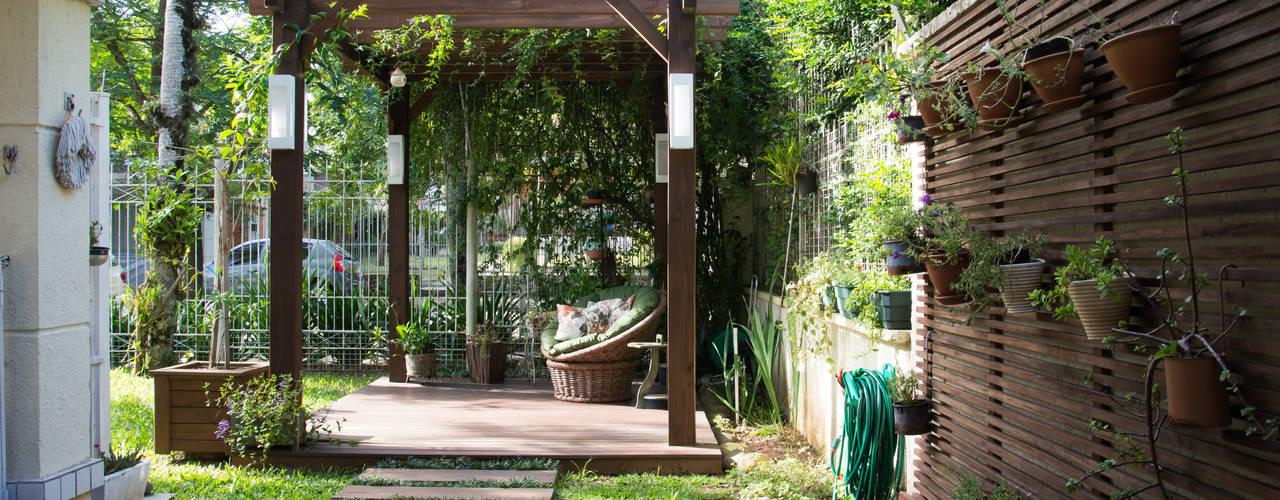 34 Ideas Para Decorar Las Paredes Del Jardin - Ideas-decoracion-jardin
