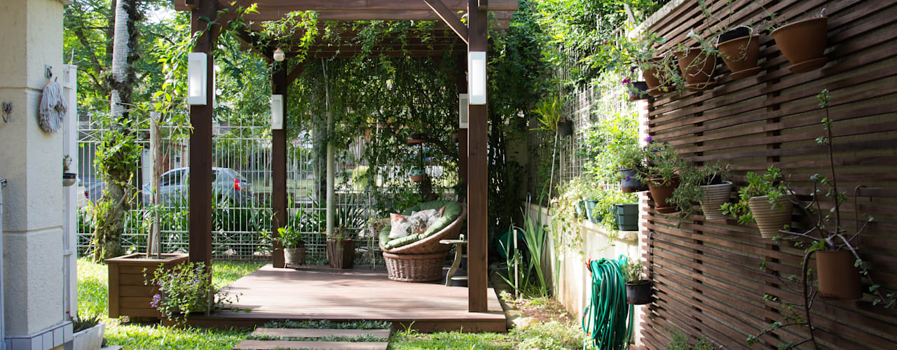 Balcones y terrazas de estilo rústico de Expace - espaços e experiências Rústico