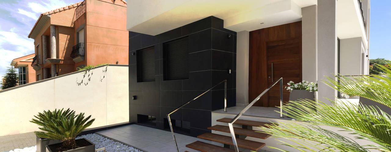Casa Condesa Jardines de estilo moderno de arqubo arquitectos Moderno
