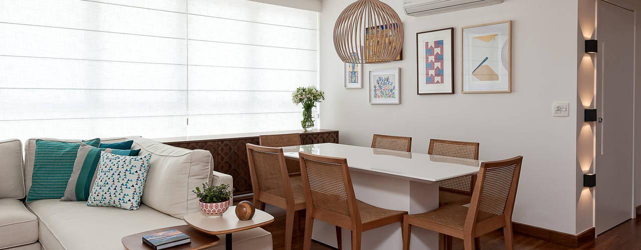 Salle à manger de style  par Ambienta Arquitetura , Moderne