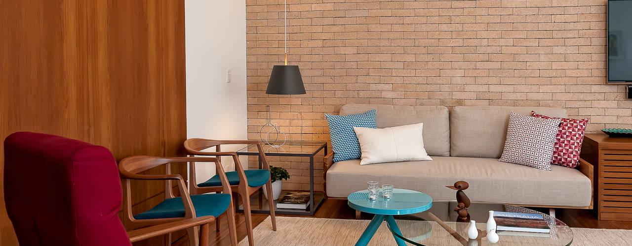 Salas de estilo  por Ambienta Arquitetura , Moderno