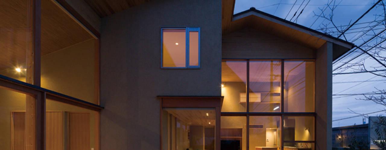 岩曽町・北庭の家: 中山大輔建築設計事務所/Nakayama Architectsが手掛けた庭です。
