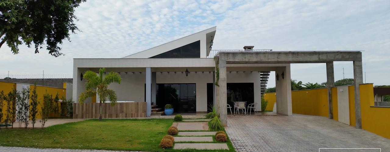 Residência de veraneio 02 Casas modernas por Monteiro arquitetura e interiores Moderno