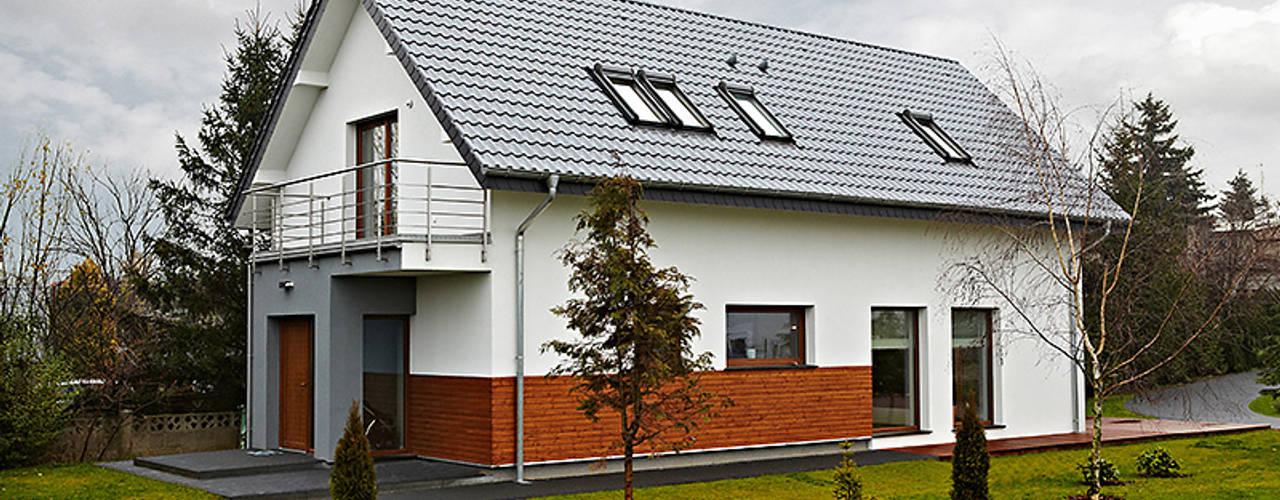 Rumah Modern Oleh Biuro Projektów MTM Styl - domywstylu.pl Modern