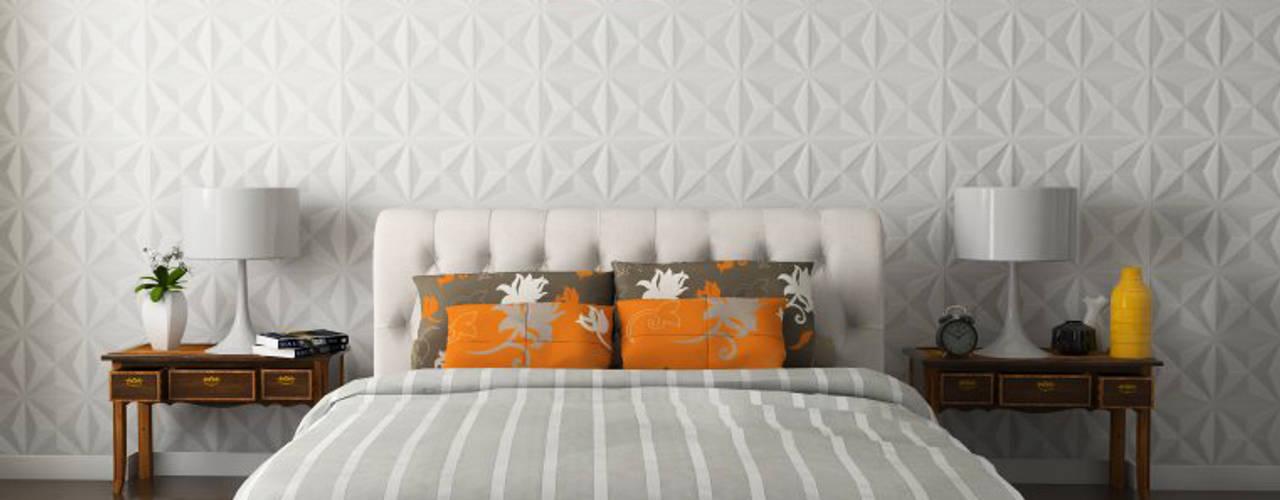 Schlafzimmer von MAGEN | Revestimentos Cimentícios